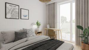 3D interiér bydlení Solnice