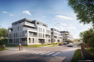 3D vizualizace investičních bytů Viva Vrchlabí