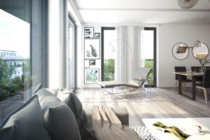 3D interiér bytu Vrchlabí